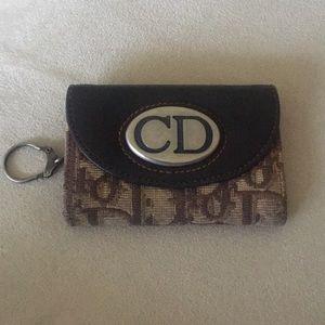 EUC Christian Dior Keychain Cardholder